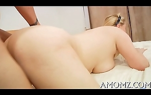 Licking and shacking up hot female parent