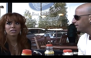 Ebon MILF Sienna West Nearly a Meet-Up And Bonk Date
